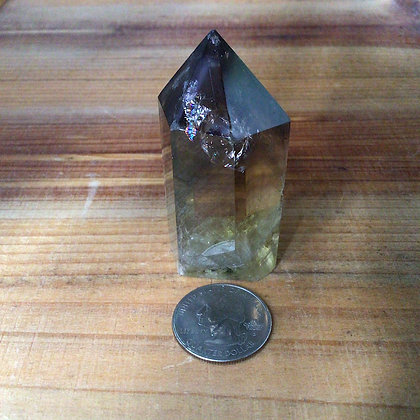 Smoky Citrine Phantom Quartz Crystal 2.44""