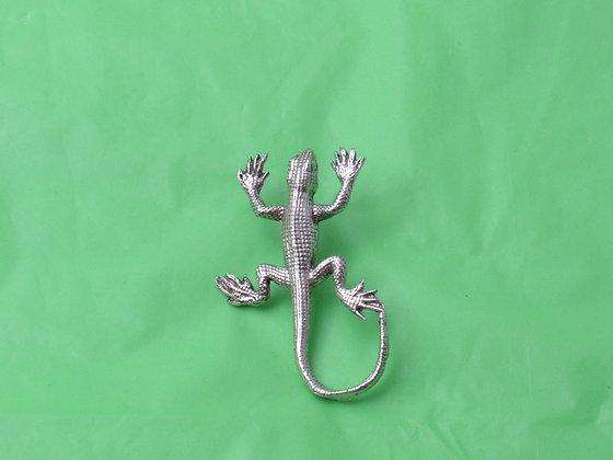 Pewter Lizard Eyeglass Holder/ Tie Tack Pin