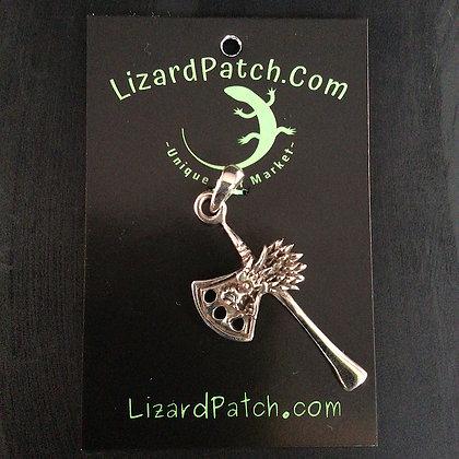 .925 Dragon Head Hatchet Pendant