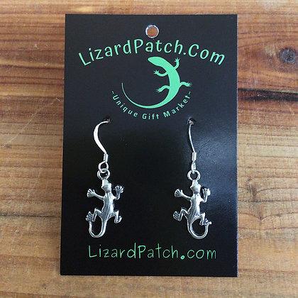 .925  Lizard Earrings