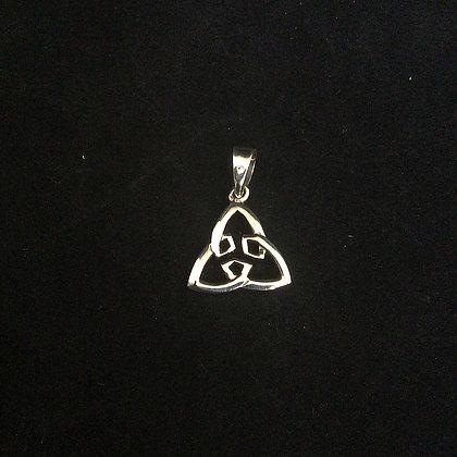 .925 Celtic Triskelion Pendant