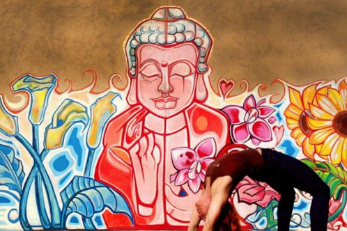 Buddha - Inspired by cool mural April 22, 2021