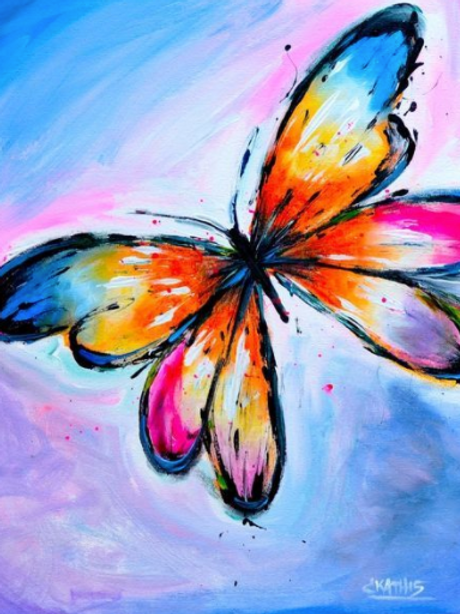 Butterfly April 1, 2021