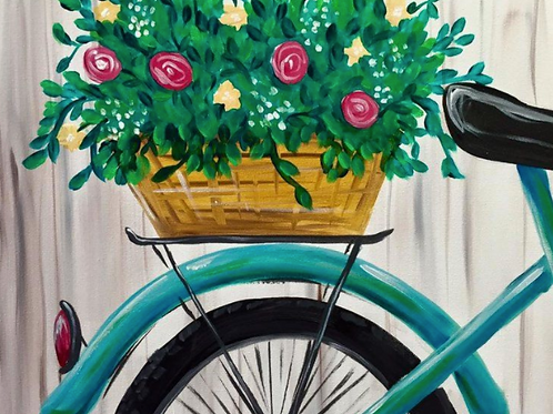 Floral Bicycle  May 6, 2021