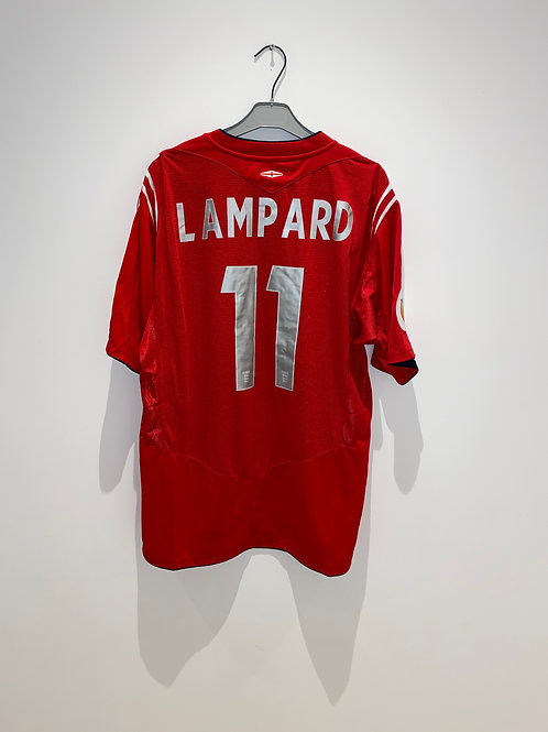Lampard England Away Shirt vs Croatia 2004