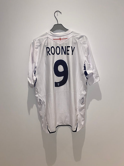 Rooney England Home Shirt 2007/09