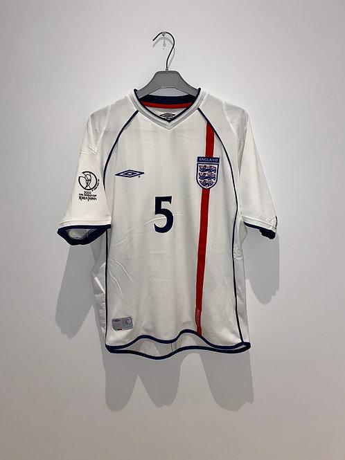 England Home Shirt 2002