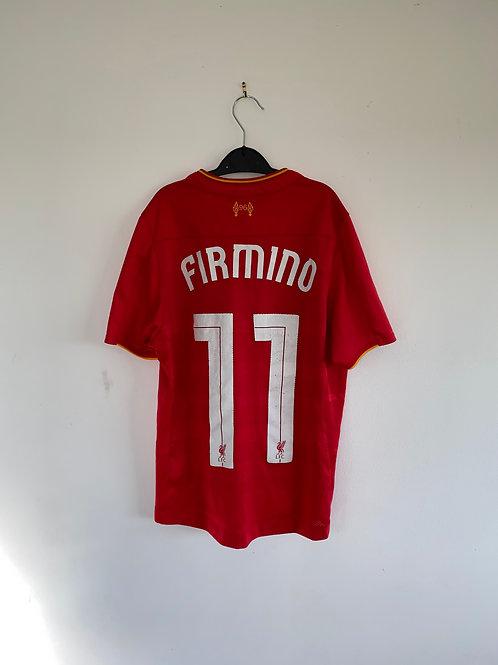 Firmino Liverpool Home Shirt 2016/17