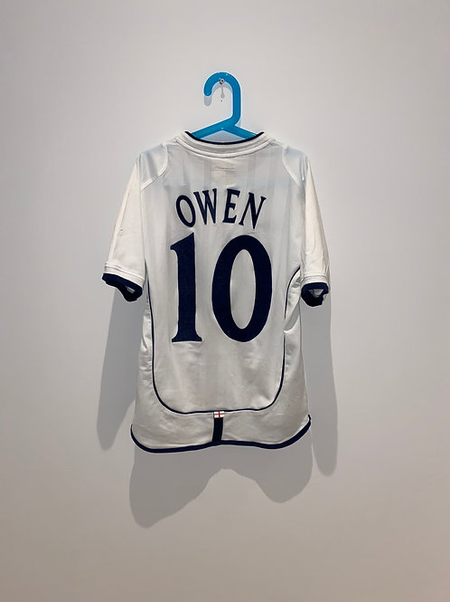 Owen England Home Shirt 2001/03