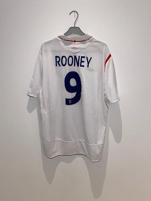 Rooney England Home Shirt vs Portugal 2006