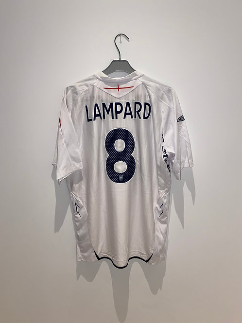 Lampard England Home Shirt 2007/09