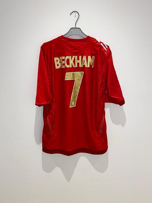 Beckham England Away Shirt vs Sweden 2006