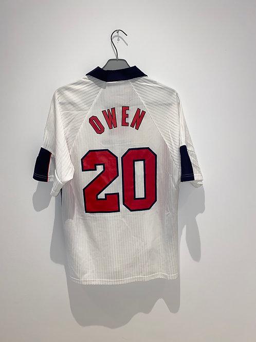Owen England Home Shirt 1998