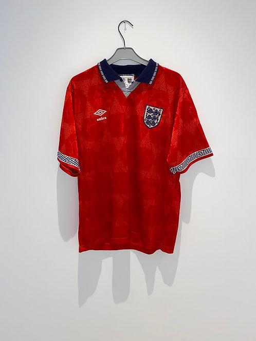England Away Shirt 1990