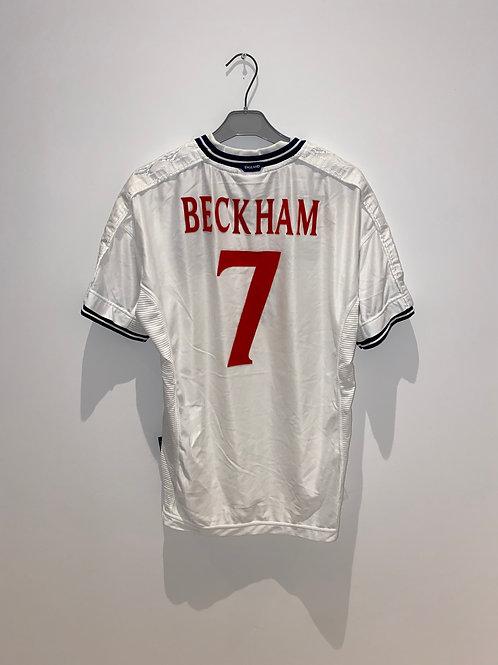 Beckham England Home Shirt 1999/2001