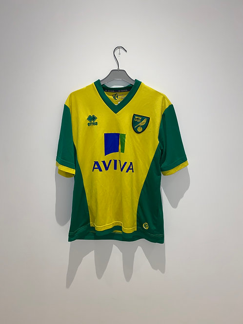 Norwich Home Shirt 2013/14