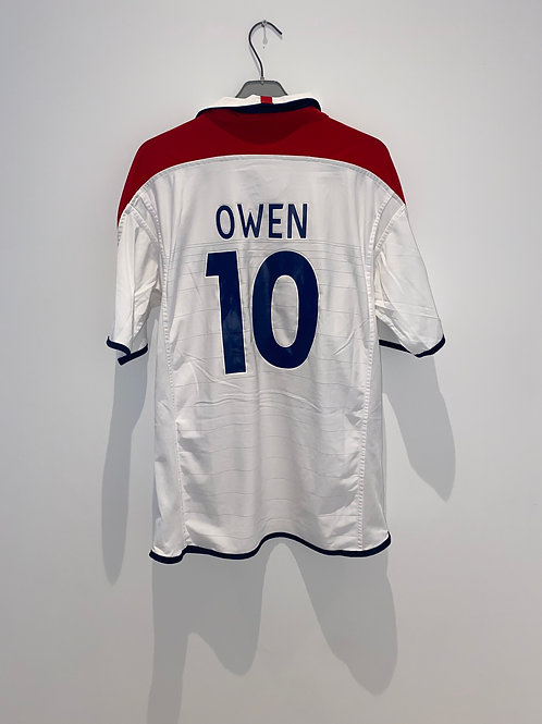 Owen England Home Shirt 2003/05
