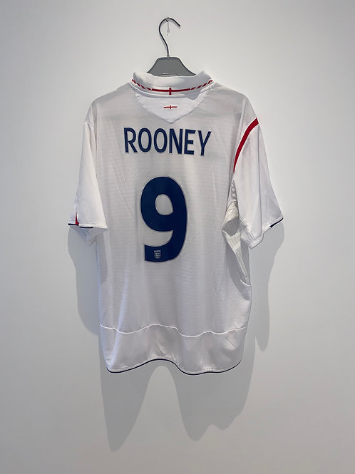 Rooney England Home Shirt 2005/07