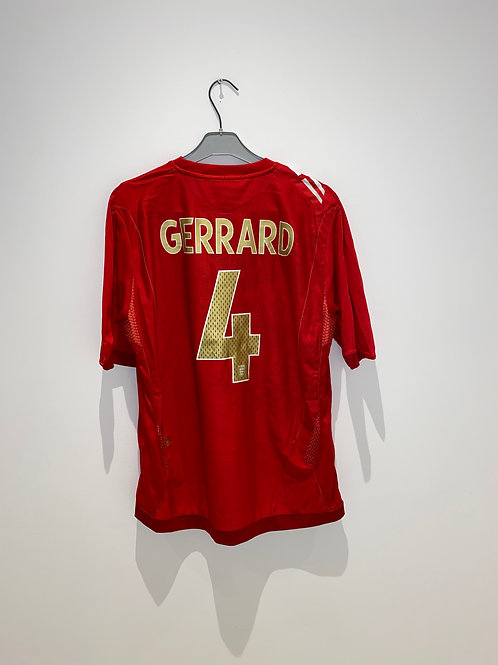 Gerrard England Away Shirt 2006/08