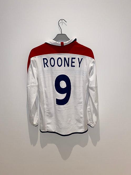 Rooney England Home Shirt 2003/05