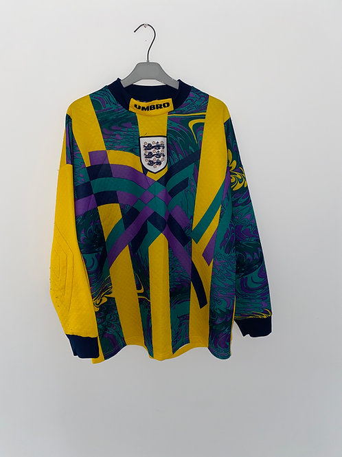 England Goalkeeper Shirt 1995/96