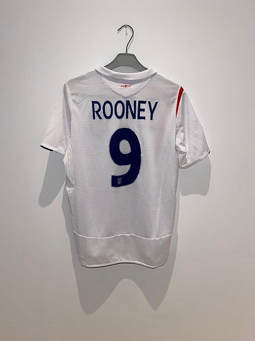 Rooney England Home Shirt vs Ecuador 2006