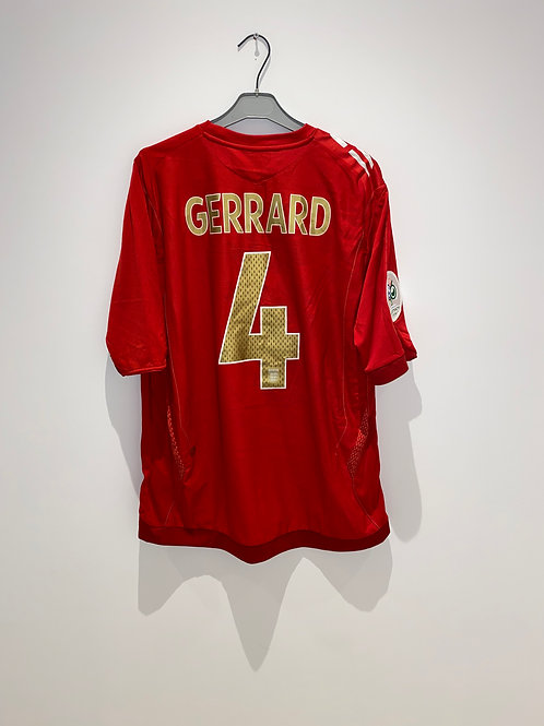Gerrard England Away Shirt vs Sweden 2006