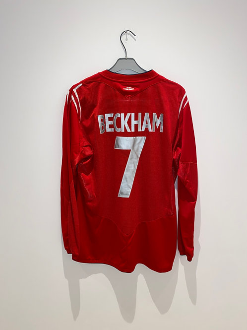 Beckham England Away 2004/06