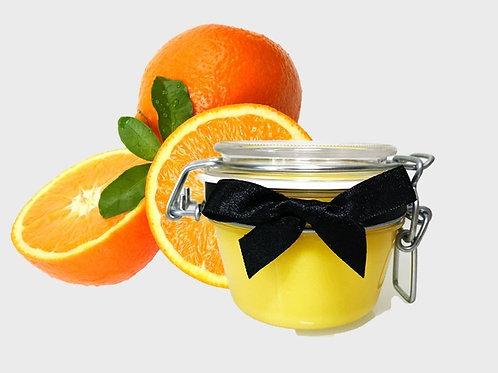 Pomarańczowy PEELING do twarzy