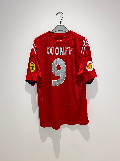 Rooney England Away Shirt vs Croatia 2004