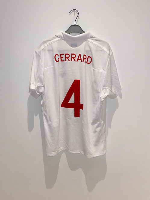 Gerrard England Home Shirt 2010
