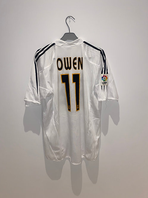 Owen Real Madrid Home Shirt 2004/05
