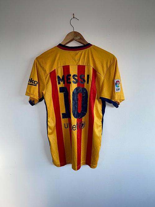 Messi Barcelona Away Shirt 2015/16