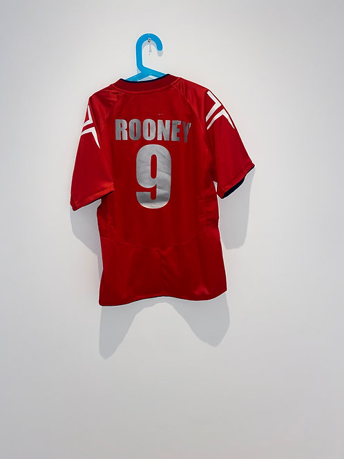 Rooney England Away Shirt 2004/06