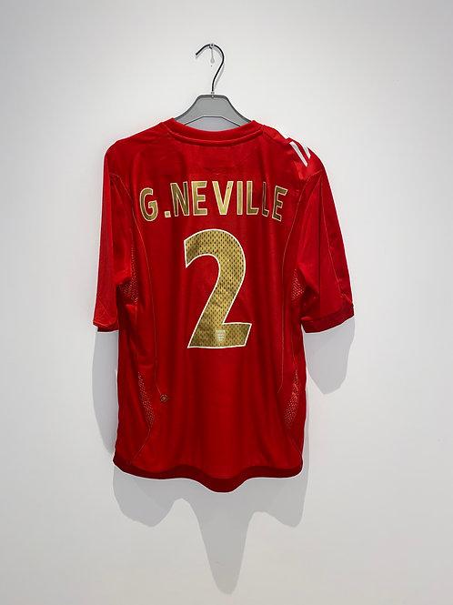 Neville England Away Shirt 2006/08