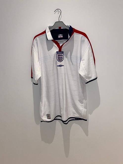 England Home Shirt 2003/05