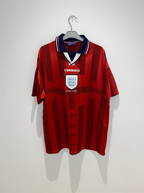 England Away Shirt 1997/99