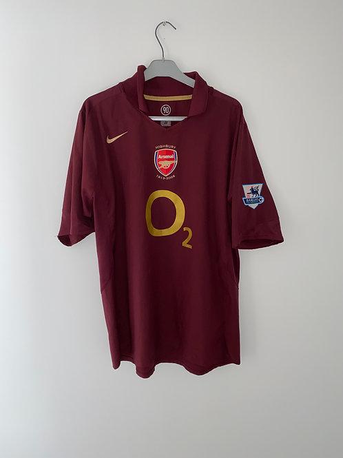 Arsenal Home Shirt 2005/06