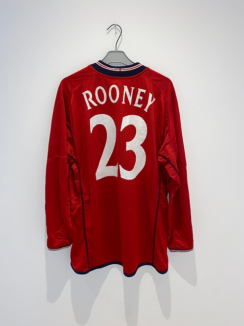 Rooney England Away Shirt 2003