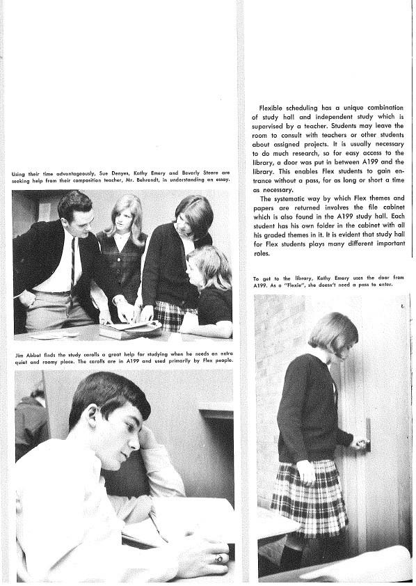 1967 Seaholm Yearbook (p. 100)