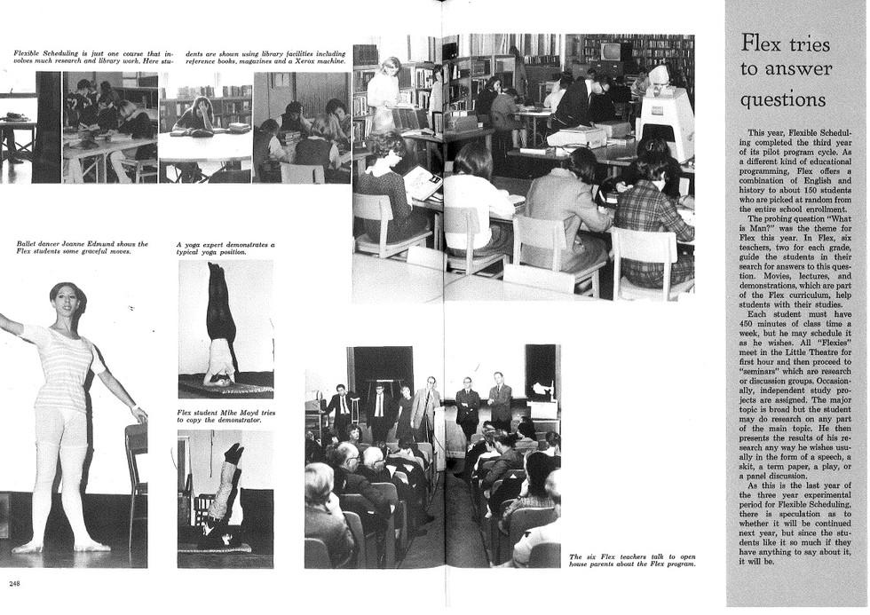 1968 Seaholm Yearbook (p. 248-249)