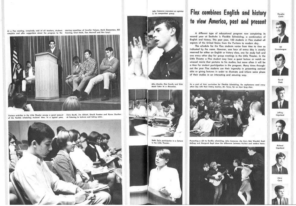 1967 Seaholm Yearbook (p. 98&99)