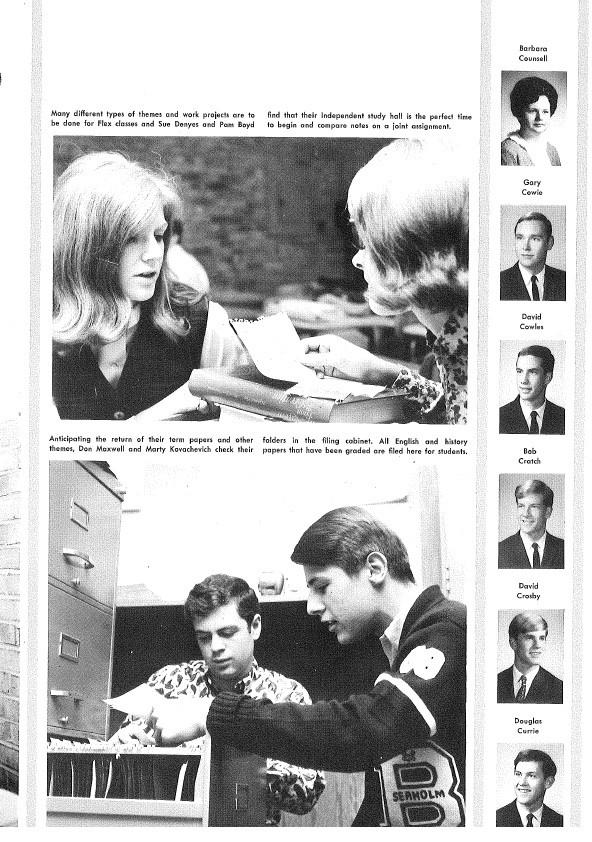 1967 Seaholm Yearbook (p. 101)
