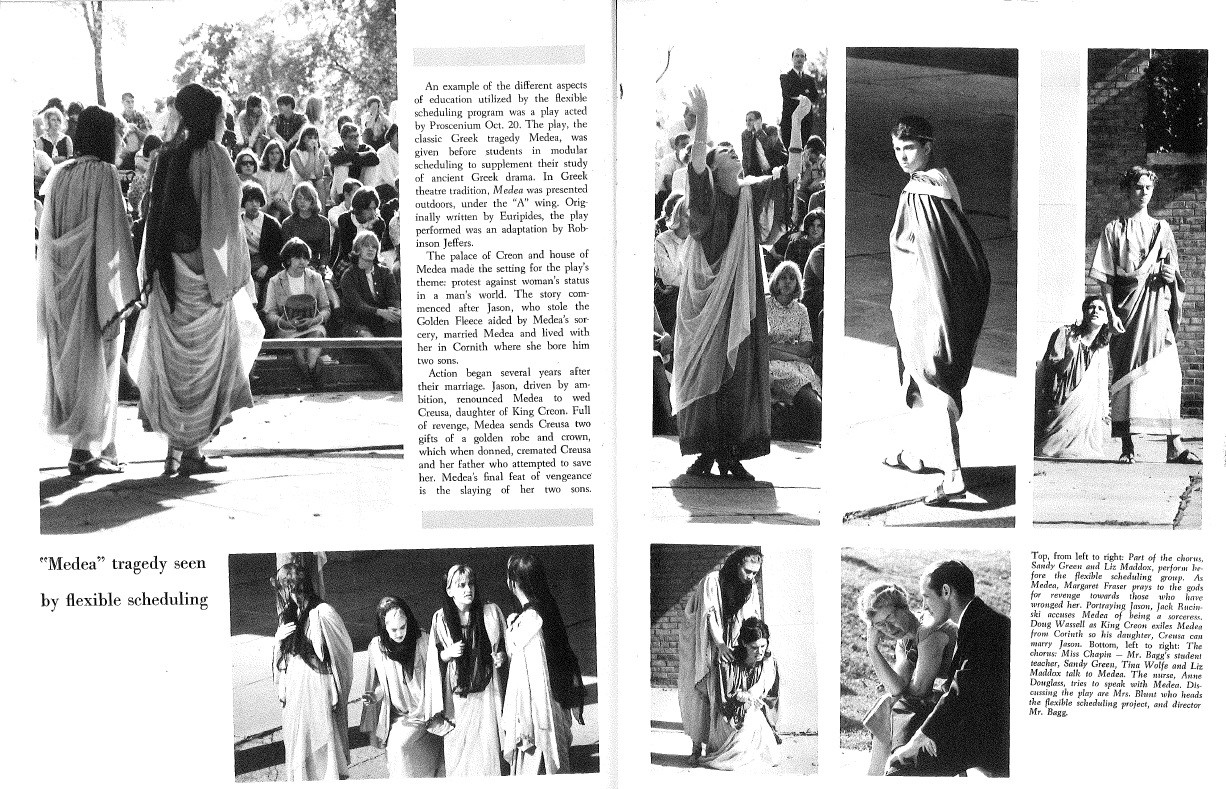 1966 Seaholm Yearbook (p.54&55)