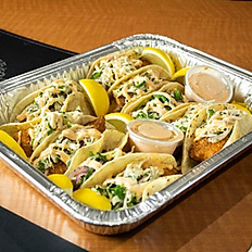 Fish Tacos Family Style Serves 5