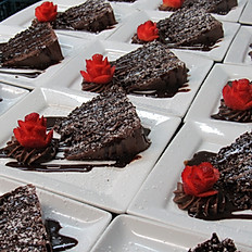 6 Layer Chocolate Fudge Cake