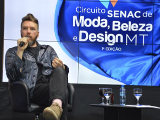 Circuito SENAC de Moda, Beleza e Design de MT - Talk Show com Alexandre Herchcovitch