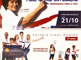 Ação Promocional de Panfletagem no Shopping Pantanal e no Goiabeiras Shopping - Colégio CIN