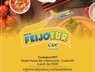 10ª FEIJOTUR - CVC Viagens Mato Grosso e Governo de Alagoas