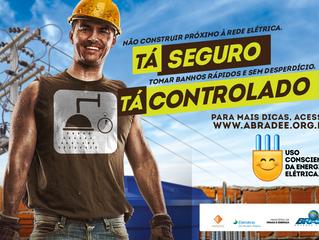 """Promotoras nos Stands ENERGISA para ação """"Uso consciente da energia elétrica"""" -   ABRADEE"""